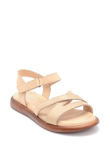 Derimod Kadın Sandalet (33) Konfor Bej